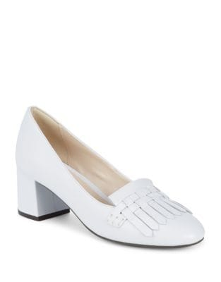 Mabel Grand Leather Pumps by Cole Haan