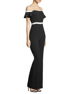 Dove Off-The-Shoulder Jumpsuit by Rachel Zoe