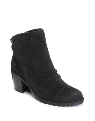 Province Suede Booties by Aerosoles