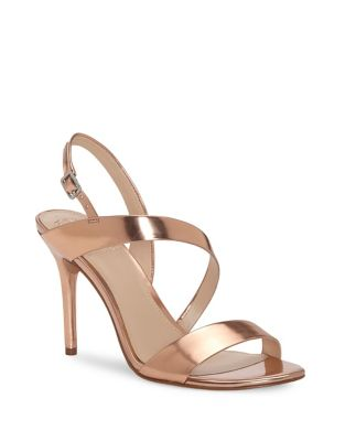 Costina Leather Open Toe Sandals by Vince Camuto