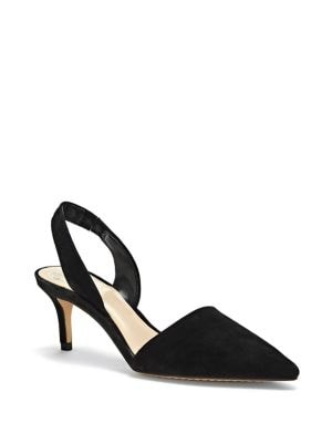 Kolissa Leather Slingback Pumps by Vince Camuto