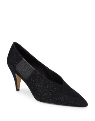 Florence Sparkling Suede Pumps by Free People