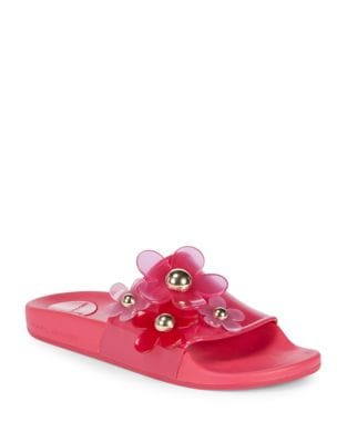 Daisy Stud Slides by Marc Jacobs