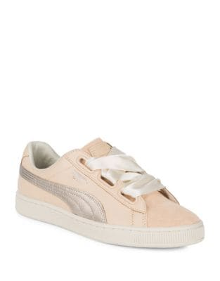 Basket Leather Sneakers by PUMA