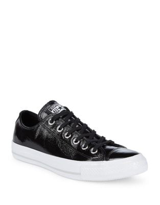 Low-Top Leather Sneakers by Converse
