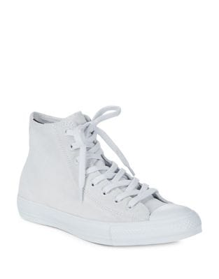High-Top Suede Sneakers by Converse