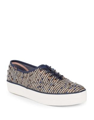 Triple Woven Fabric Sneakers by Keds