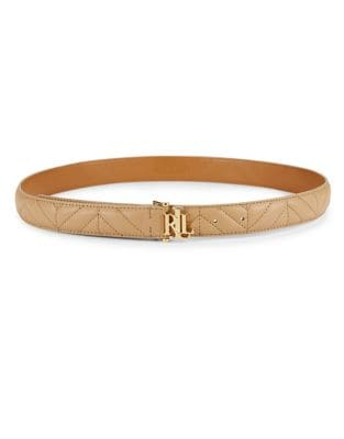 Quilted Leather Belt 500087681657