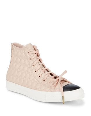 Tas Leather High-Top Sneakers by Converse
