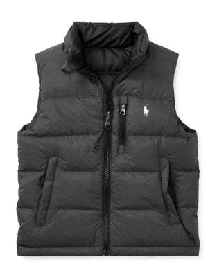 Toddlers Little Boys  Boys Ripstop Down Vest
