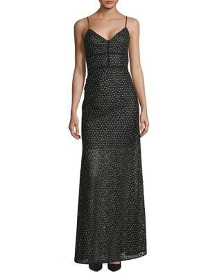 Laced Floral Maxi Dress by Jill Jill Stuart