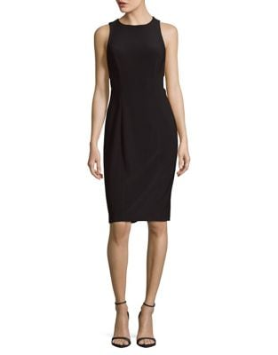 Sleeveless Sheath Dress by Betsy & Adam