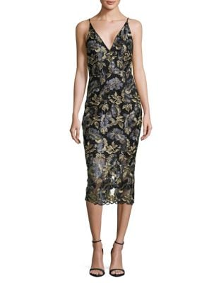 Floral Print Sheath Dress by Xscape