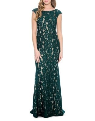 Floral Lace Gown by Decode 1.8