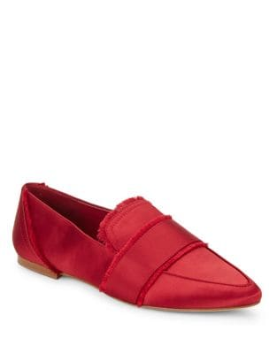 Hayden Satin Loafers by 424 Fifth
