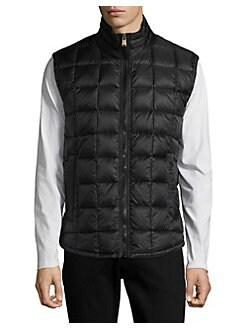 lang fleece vest