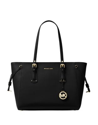 Voyager Medium Leather Tote 500087708605