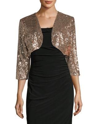 Sequined Bolero Jacket by Eliza J