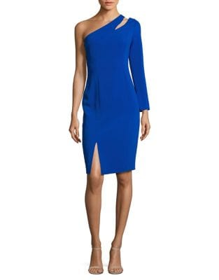 Cutout One-Shoulder Dress by Jill Jill Stuart