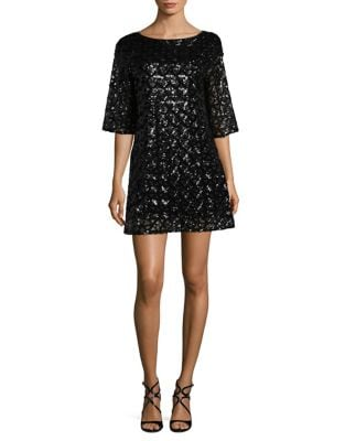 Sequin Mini Dress by Laundry by Shelli Segal