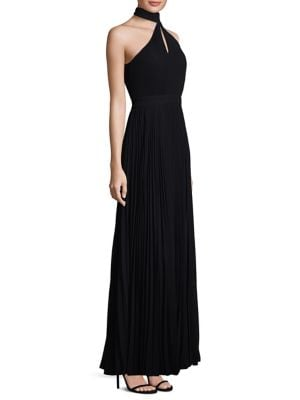 One Shoulder Floor-Length Gown by Laundry by Shelli Segal