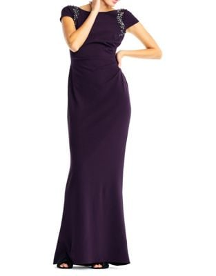 Elegant Floor-Length Dress by Adrianna Papell