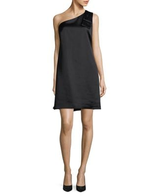 Bow One-Shoulder Dress by Nicole Miller New York