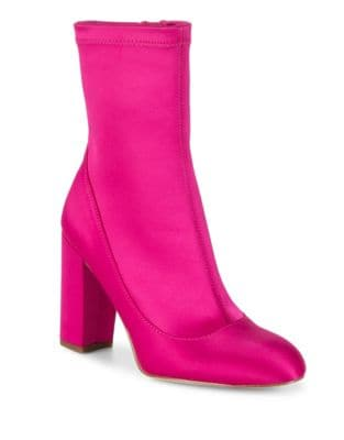 Calexa Satin Sock Booties by Sam Edelman