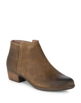 Vanna Suede Booties by Rockport