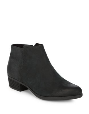 Vanna Zip Kid Leather Booties by Rockport