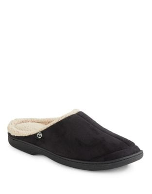 Faux Fur Slippers @...