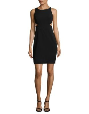 Cutout Sheath Dress by Aidan Aidan Mattox