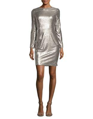 Sequin Sheath Dress by Aidan Aidan Mattox