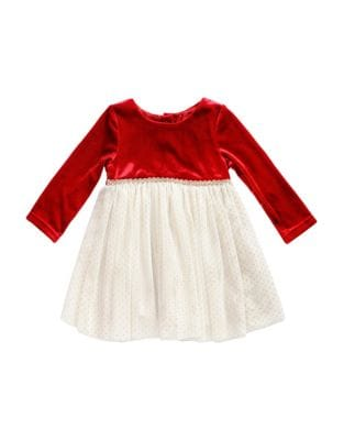 Little Girls Velvet Occasion Dress