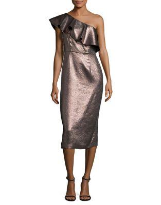 One-Shoulder Dress by Rachel Zoe