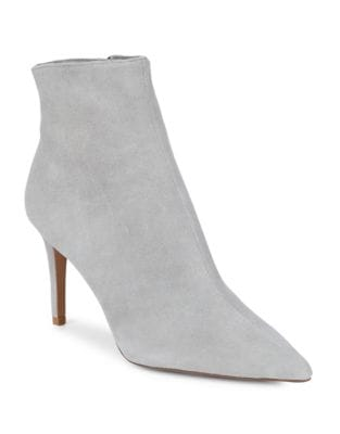 Logic Suede Booties by Steven by Steve Madden