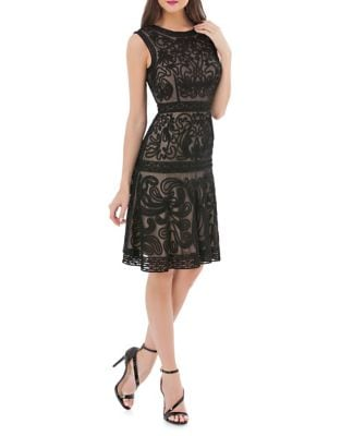 Soutache Fit-&-Flare Dress by JS Collections