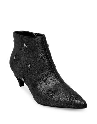 Toryn Star Embellished Leather Boots by Design Lab Lord & Taylor