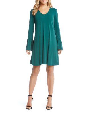 Bell-Sleeve Dress 500087717667