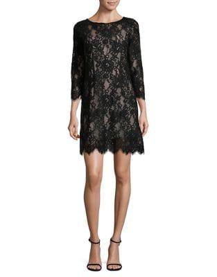 Lace Scalloped Dress by BB Dakota