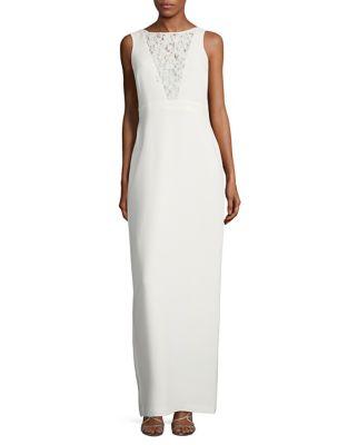 Sleeveless Floor-Length Dress by Karl Lagerfeld Paris