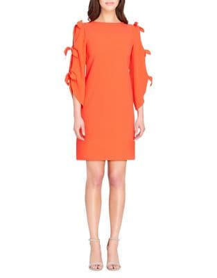 Bow-Sleeve Shift Dress by Tahari Arthur S. Levine