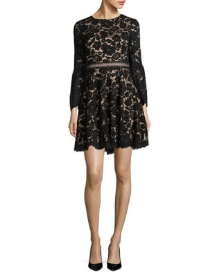 Floral Lace Mini Dress by Vince Camuto