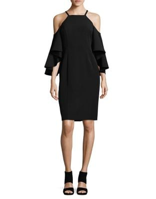 Frill Cold-Shoulder Dress by Vince Camuto