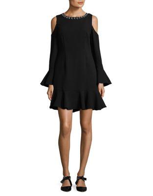 Ruffled Mini Dress by Eliza J