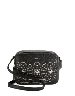 Avery Studded Leather Crossbody Bag 500087722705