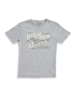 Boys Blue Jeans Graphic Tee