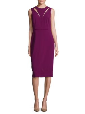 Cutout Sheath Dress by Ivanka Trump