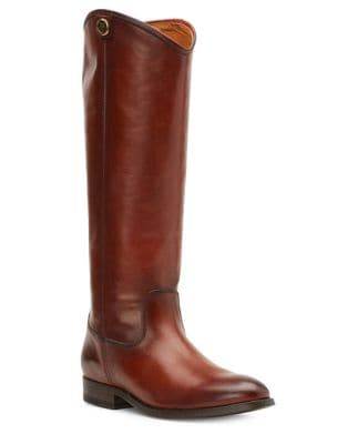 Melissa Button 2 Classic Leather Boots by Frye