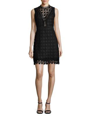 Star Lace Sheath Dress by Sam Edelman